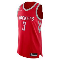3a5c4115b Chris Paul Icon Edition Authentic Jersey (Houston Rockets) Men s Nike NBA  Connected Jersey Size 40 (University Red)