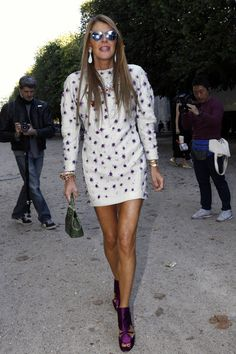 Street style Paris Fashion Week: Anna Dello Russo