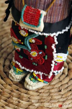 Corn dolls Iroquois(Seneca) by Slastidolls
