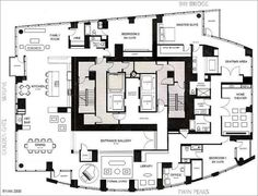 One Rincon Hill Penthouse Floor Plan ala Reader Ryan. Click to enlarge (the  image