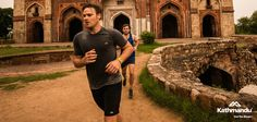 Nick and Rhys put our trail running gear through its paces at the Old Fort, Delhi.