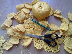 Esta es la forma de unir las piezas en el tejido irlandés.