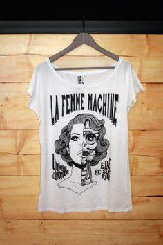 Femme t-shirt by LA CRÜZ. (S/M/L/XL)