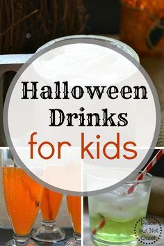 Recipes for fun, tasty Halloween drinks for kids #sk #ad