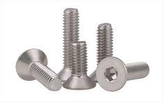 SuperCS Stainless Steel Allen Head Socket Hex Grub Screw Assortment Kit Internal Hex Screw for Door Handles
