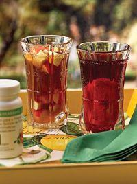 Prove a receita de Bebida Refrescante de Verão, com produtos Herbalife.
