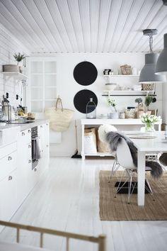 White kitchen / Kitchen inspiration