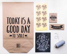 Handlettering Goodiebag