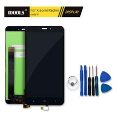 For Xiaomi Redmi Note 4 Pro Prime LCD Display Replacement Mobile Phone Accessories LCDs With Touch Screen Digitizer Assembly 5.5  — 2954.46 руб. —
