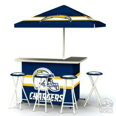 Standard Nfl Bar San Diego Chargers