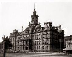 Detroit City Hall 1889