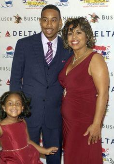 Ludacris Daughter Karma | Ludacris, his mama Roberta Shields, and daughter Karma ...