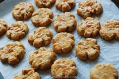 CNY snacks & cookies - Hup Toh Soh/ Walnut biscuits #chinesenewyear #cnycookies ~JW