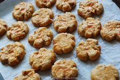 CNY snacks & cookies - Hup Toh Soh/ Walnut biscuits #chinesenewyear #cnycookies ~JW