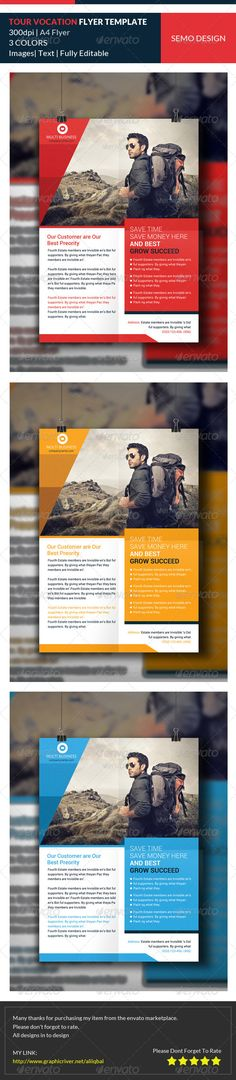 Tour Vocation Flyer Template PSD   Buy and Download: http://graphicriver.net/item/tour-vocation-flyer-template/8022183?WT.ac=category_thumb&WT.z_author=AliIqbal&ref=ksioks