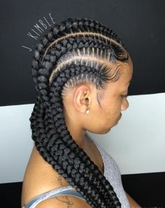 Jaron Kimble is the truth when it comes to braiding! I saw his super neat stitch…