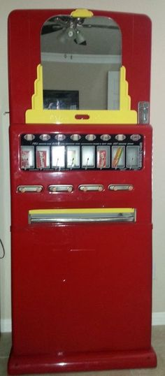 1950s Vintage Stoner Candy Machine - Powder Coated Red