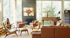 mid-century modern interior design | Amy Lau Design - Mixed Mid Century Modern | Plastolux
