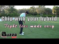 (14) Chip with your hybrid (tight lies made easy) - YouTube
