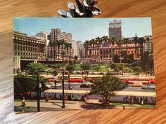 Vintage Used Postcard Brazil Brasil SAO PAULO by DSalCodaDesign