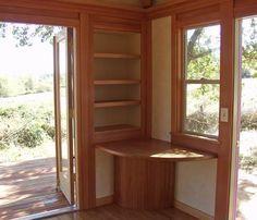 shelves around doorway - Google Search