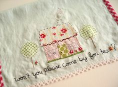 won't you please come by for tea? by nanaCompany, via Flickr