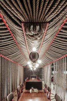 Saboten Restaurant, Hong Kong. 4N Architects
