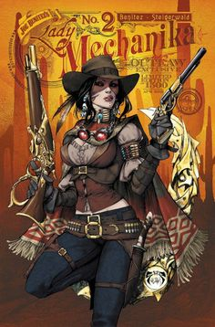 The Comics Girls: Lady Mechanika Lady Mechanika, Steampunk Images, Steampunk Artwork, Mode Steampunk, Gothic Steampunk, Steampunk Characters, Fantasy Characters, Bd Comics, Comics Girls