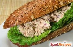 The BEST Tuna Salad Recipe by GORGEOUS26 via @SparkPeople
