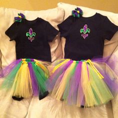 Mardi Gras outfits for the girls