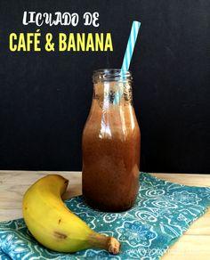 Delicioso licuado de café y banana #ad #MomentoNESCAFE #licuadodecaféybanana…