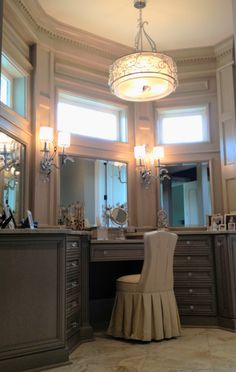 Master Bath Vanity Love The Gray Beautiful Bathroom Built Ins