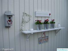 Outdoor Gardens, Outdoor Living, Shelves, Diy, Home Decor, Outdoor Life, Shelving, Decoration Home, Bricolage