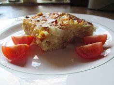 Das perfekte Zwiebelkuchen vom Blech-Rezept mit Bild und einfacher Schritt-für-Schritt-Anleitung: Mehl, Butter, Salz, Eier und Wasser zu einem glatten Teig…