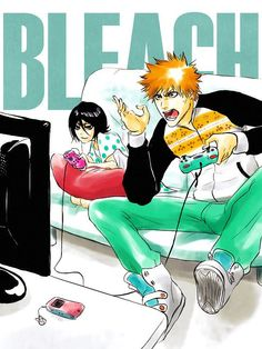 Find images and videos about anime, bleach and Ichigo on We Heart It - the app to get lost in what you love. Ichigo Manga, Bleach Ichigo And Rukia, Kuchiki Rukia, Anime Manga, Anime Guys, Bleach Amv, Bleach Anime Art, Bleach Fanart, Bleach Manga