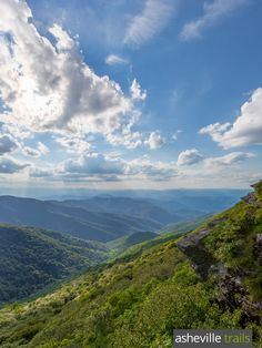 Hike to outstanding summit views on the Craggy Pinnacle Trail, located off the Blue Ridge Parkway at the Craggy Dome overlook