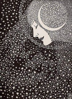 Lady of the Night (Don Blanding poetry book ilustration, 1935)