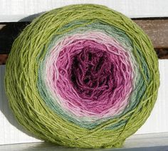 Trigonella by flower coloured yarn