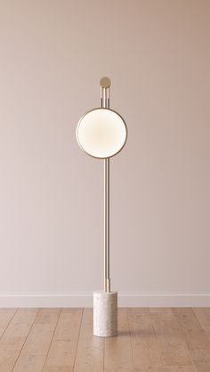 Roche Bobois - SOLEDAD floor lamp - adjustable height aluminium and steel…