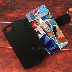 Ariel The Little Mermaid Wallet Cases | ideacases.com - cute graphic tees    ORDER HERE => https://ideacases.com/shop/