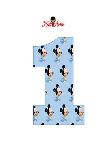 EUGENIA - KATIA ARTES - BLOG DE LETRAS PERSONALIZADAS E ALGUMAS COISINHAS: Números mickey baby Mickey Mouse Birthday Invitations, Mickey Mouse First Birthday, Festa Mickey Baby, Mickey Party, Mickey Mouse Decorations, 1st Birthday Decorations, Miki Mouse, Mickey Mouse Png, Disney Cars Party