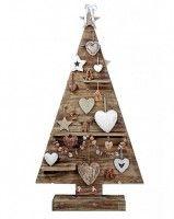 Kerstboom van steigerhout.
