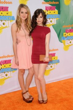 Katelyn Tarver and Erin Sanders - 2011 Kids Choice Awards
