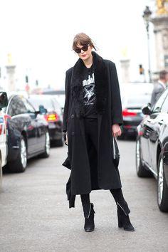 Best Paris Fashion Week Street Style Fall 2015 - Street Style from Paris Fashion Week