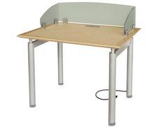 AGATI Furniture   Antrim Table Carrel