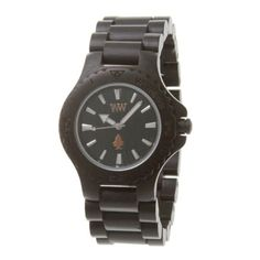 Wewood Men's Date Black Wooden Watch by WeWood -- Awesome products selected by Anna Churchill