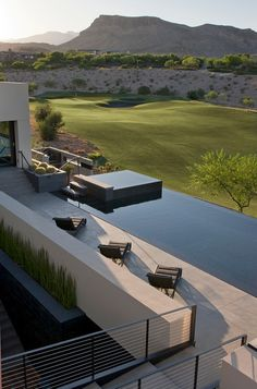 Contemporary Pool by Assemblage Studio - Pinned onto ★ #WebinfusionHome ★