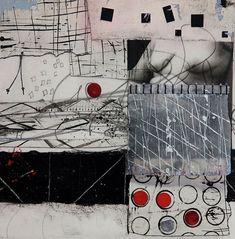 Collage Mixed Media - Flesh Talk by Laura Lein-Svencner