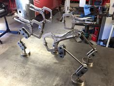 Custom homemade adjustable welding clamps