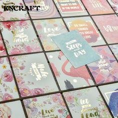 KSCRAFT 25 Stks Zuur Gratis Kleurrijke Papier Pocket Kaarten voor Scrapbooking DIY Projecten/Fotoalbum/Card Maken Ambachten